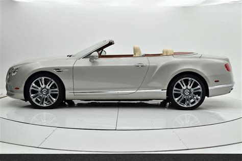 2017 bentley continental gt w12 convertible