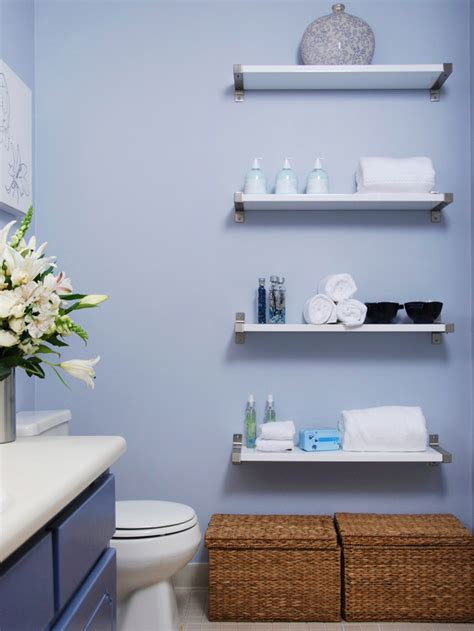 How To Decorate Bathroom Shelves Small Bathroom Shelf