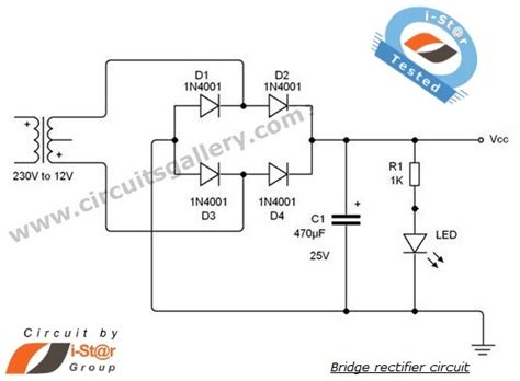 rectifier circuit lab wave bridge rectifier circuit with working explanation circuits gallery