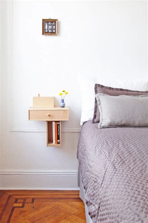 floating bedside shelves bedside floating shelves inspiration bedroom