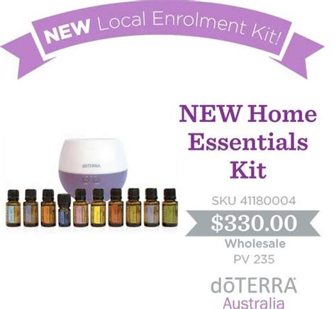 get started on your journey with doterra
