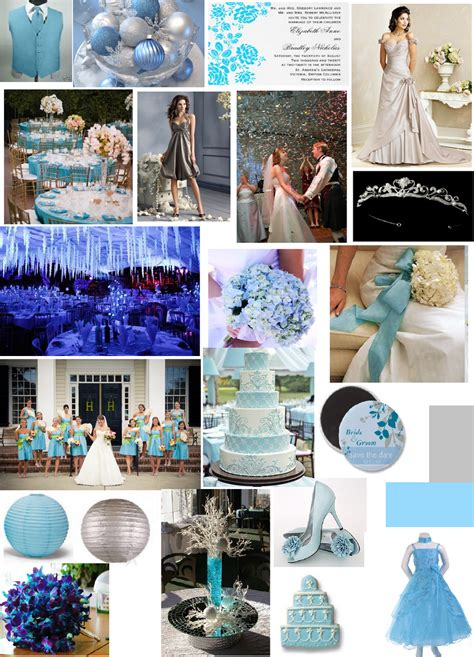 blue and silver theme smy theme colors inspriation boards inspiration project wedding forums