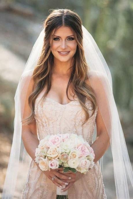 Brautfrisur Locker by Hochzeitsfrisuren Mit Schleier Locker