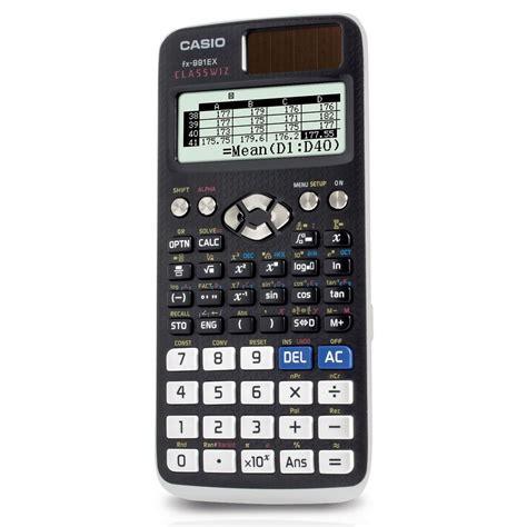 Calculator Fx 3650 Casio Scientific casio fx 911ex classwiz scientific calculator staples 174
