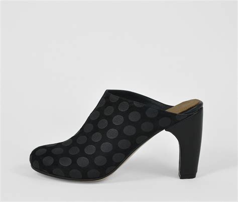 the palatines shoes the palatines shoes dimidia comma heel clog black