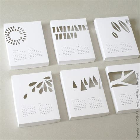 Handmade Calendars - handmade calendars for 2011 171 what no mints