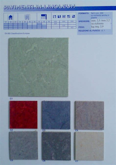 pavimenti in linoleum prezzi prezzi linoleum pannelli termoisolanti