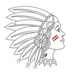mohawk outline designs tattoos on pinterest cameo tattoo nose ring stud and