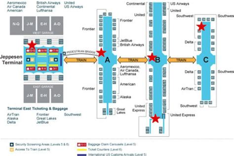 denver international airport map where to eat at denver international airport winter 2016 eater denver