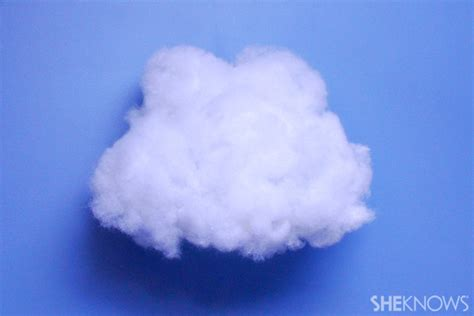 3d cloud 5 cute rainy day crafts for kids