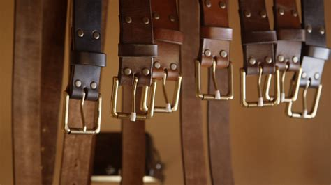 leather craft a leather belt by northmen