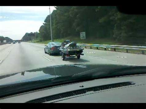 towing seadoo behind boat bmw 325i towing a jetski youtube