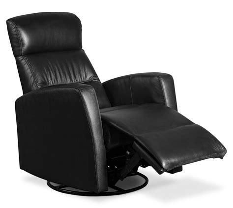 genuine leather swivel recliner penny genuine leather swivel rocker reclining chair