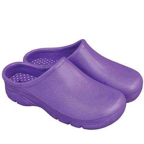 Gardening Clogs by Briers Garden Clogs Lavender Wellies Pvc Fashion Gardening Boots Size 6 B2116
