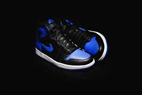 blue jordan wallpaper air jordan 1 retro high og royal 2017 kicksonfire com