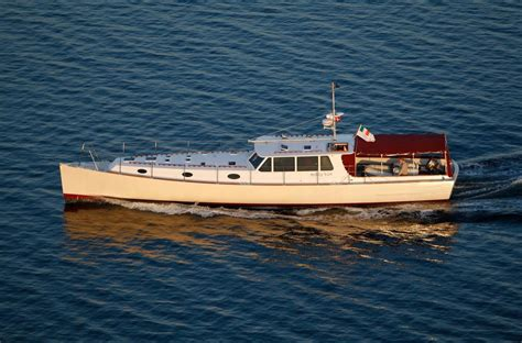yacht motor boat services 2008 custom nigel irens 63 modern classic power new and