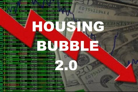 housing crash housing bubble ends with stock market crash and gold