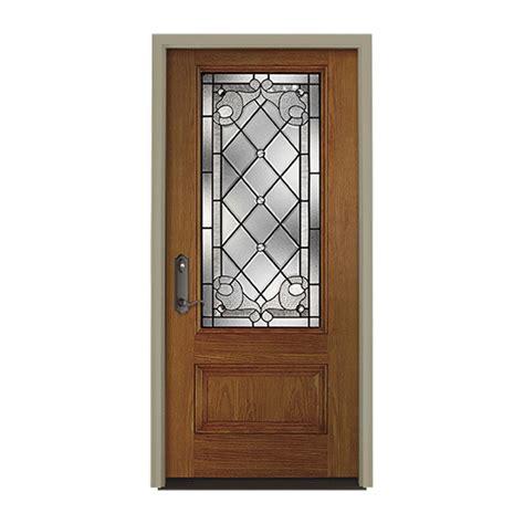 Pella Entry Door by Pella European 3 4 Light Entry Door With Glass Pella