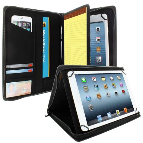 Casing Tablet cover for universal tablet padfolio zippered from 8 5