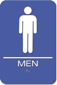 tumblr mens bathroom injection molded men s bathroom ada sign blue 6 quot x 9