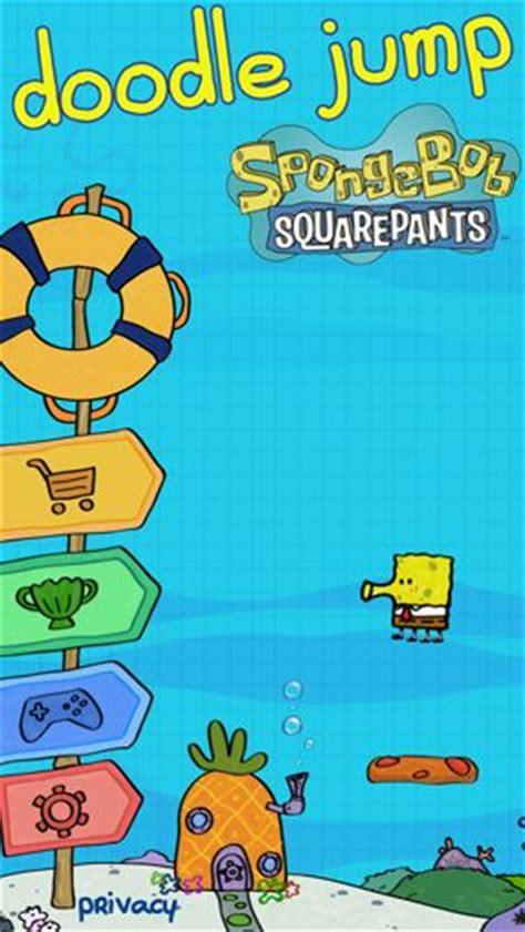 doodle jump spongebob doodle jump sponge bob square iphone free