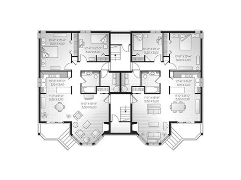 8 plex apartment plans apartment plans 8 plex inspiration house plans 81231