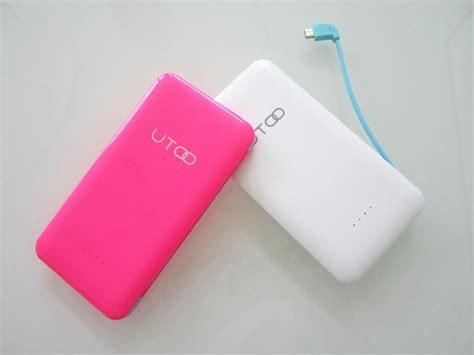 Power Bank Utoo power bank portable charger 5000mah s3 gadmei utoo