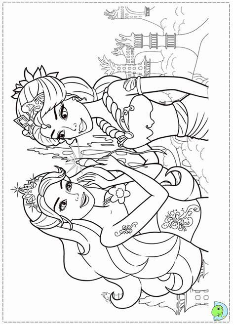 barbie logo coloring pages drawn compass deviantart 3291554