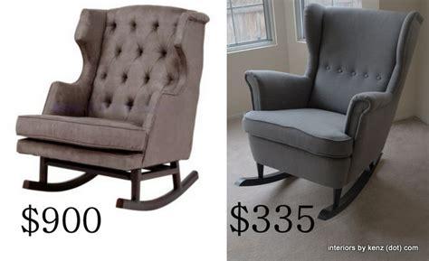 ikea hack strandmon rocker diy wingback rocking chair ikea hack strandmon rocker diy wingback rocking chair