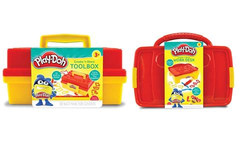 desk to play at work up to 20 on play doh tool box or work desk groupon