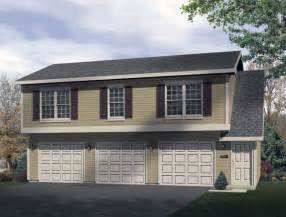 3 car garage with apartment plan