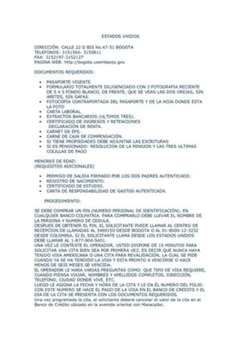 carta de invitacion visa canadiense calam 233 o requisitos visas para colombianos