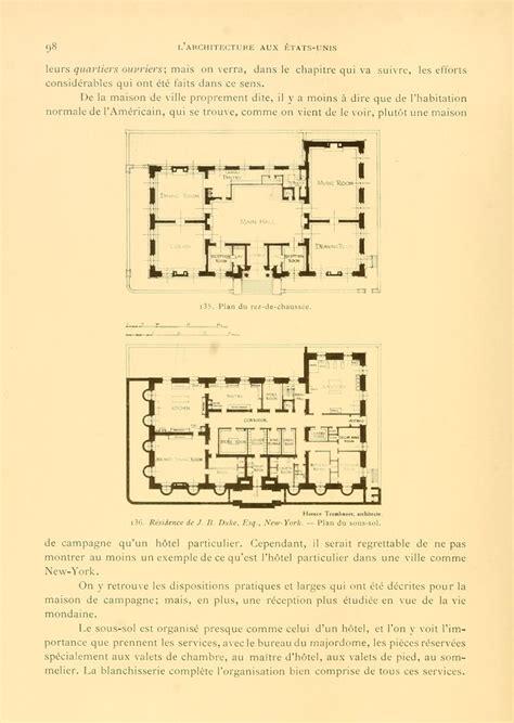 gilded age mansions floor plans duke mansion basement and 1st floor gilded age