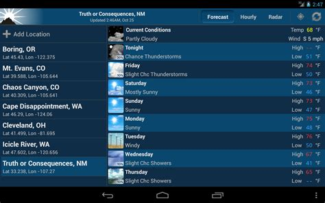 noaa weather app for android noaa weather unofficial apk free weather android app appraw