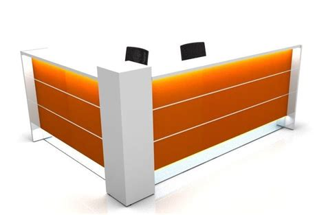L Shaped Reception Desk L Shaped Reception Desk With Side Panels Valde 1614mm
