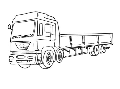Camion Coloriages Des Transports Page 2