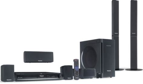 panasonic sc pt770 dvd home theater sound system 5 1