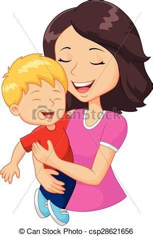 imagenes de mama con sus hijos en caricatura clipart vectorial de familia feliz caricatura tenencia