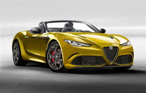 alfa romeo spider 2017 alfa romeo spider 2018 front view tops speed