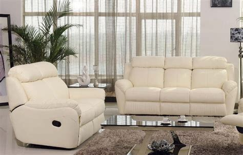leather reclining living room sets modern reclining