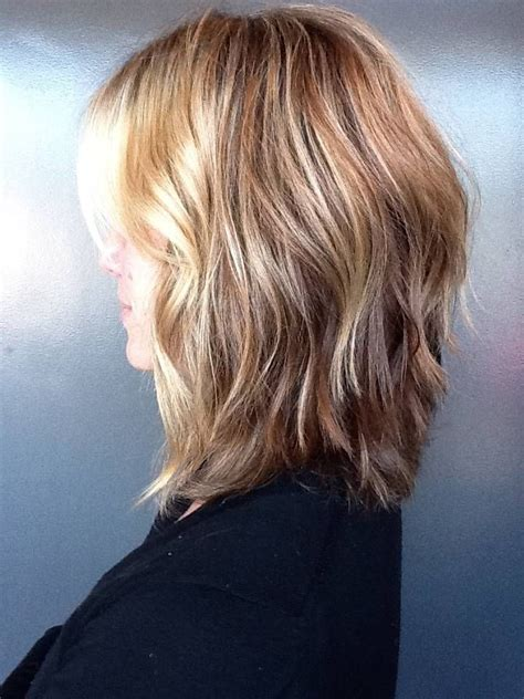 shoulderlength volume haircut inverted bob hairstyles for medium length hair hair