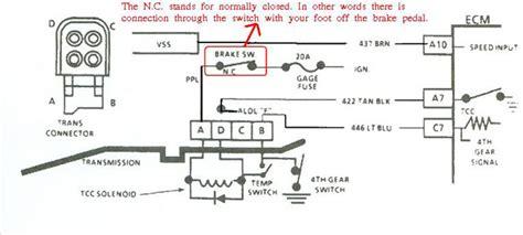 wiring diagram for 2004r manual lockup choice image