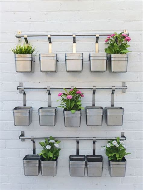 Garden Herb Wall Outdoor Living Pinterest Herb Wall Hanging Wall Herb Garden