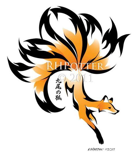 9 tailed fox tattoo 25 best ideas about fox design on fox
