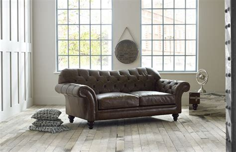 vintage chesterfield sofas vintage leather sofa chesterfield company