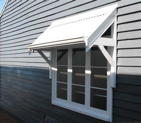 Window Awning by Timber Awnings Perth Traditional Awnings Federation
