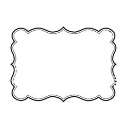 Png Outline Shapes by Flower Template Free Printable Cliparts Co
