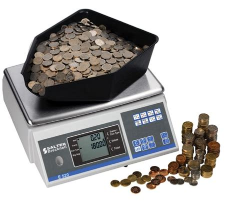 coin counter salter brecknell cc804 coin counters the king was in his counting house oneweigh s