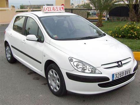 pejo second peugeot 307 diesel used car costa blanca spain second
