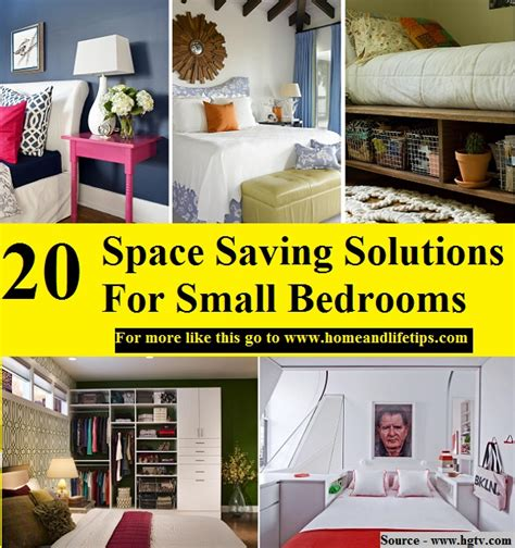 Space Saving Solutions For Small Bedrooms 28 Images 20 Design Dozen 12 Clever Space